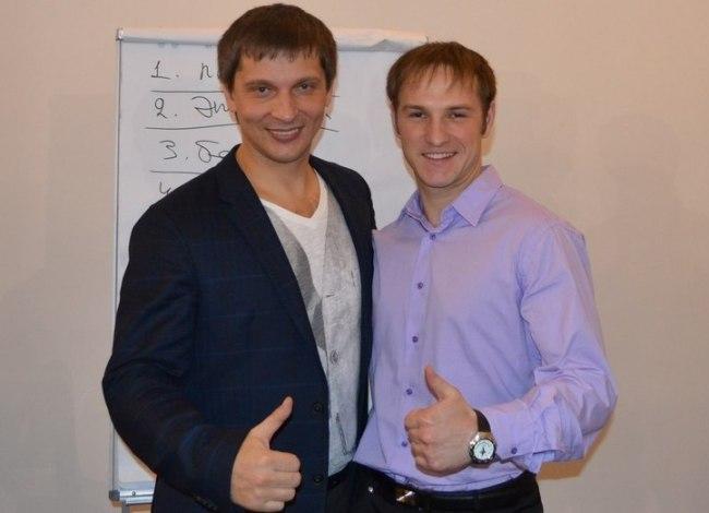 Николай Куренков и Владислав Челпаченко