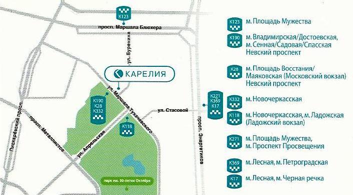 Карелия - место проведения workshop