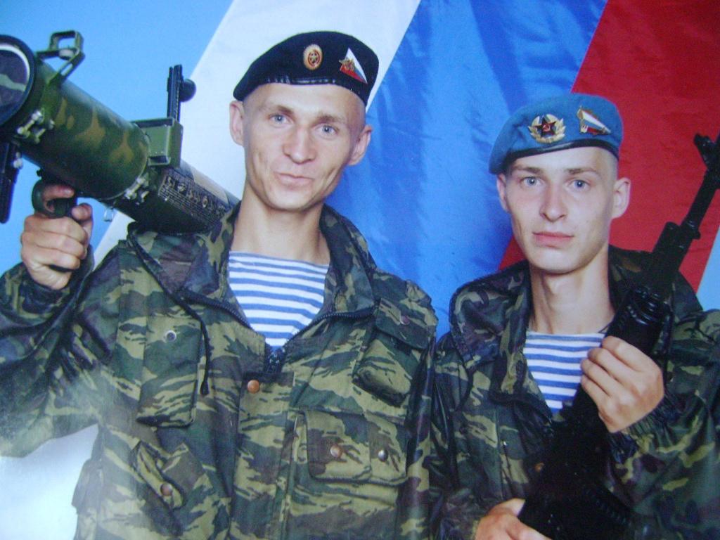 Николай Подсевалов в армии