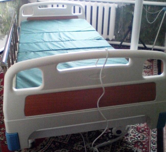 Кровать, купленная на прошлой благотворительной акции