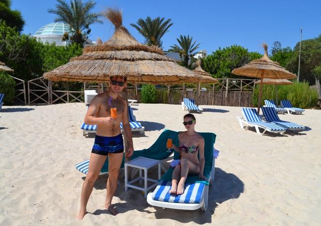Тунис - фото пляжа