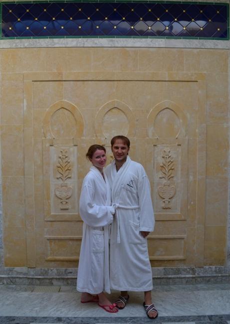 На отдыхе в Тунисе после SPA-процедур