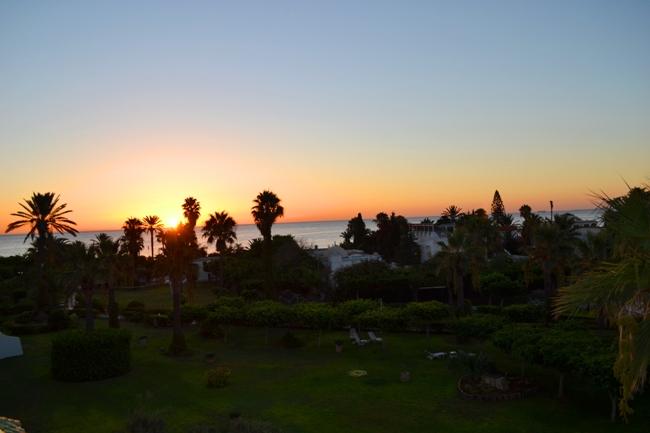 Рассвет на отдыхе в Тунисе - фото