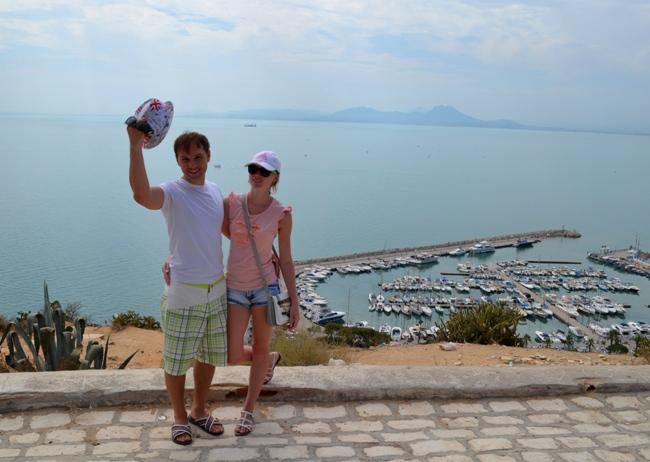 На экскурсии в Тунисе