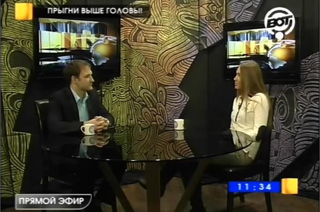 Светлана Ермоленко на телеканале ВОТ