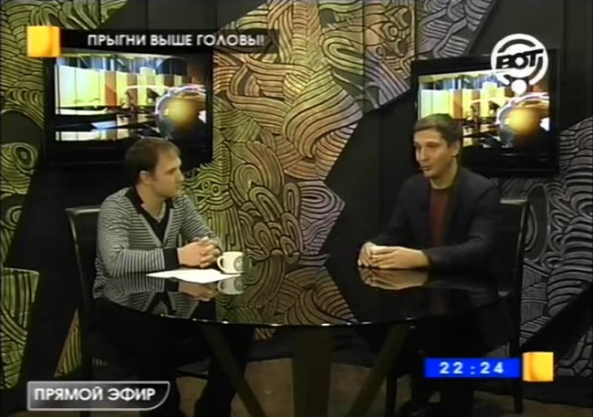 Николай Куренков на телеканале ВОТ