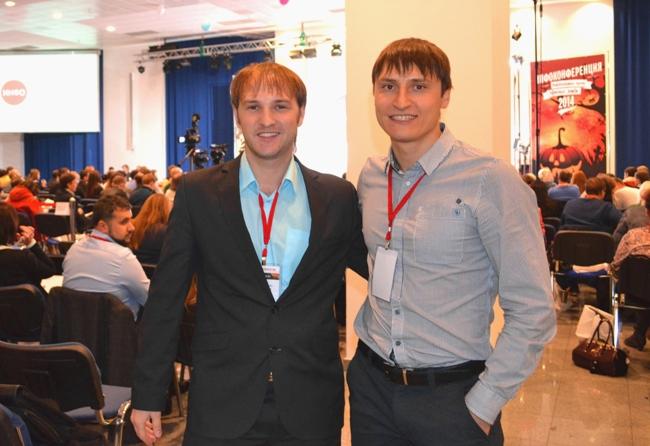 На инфоконференции с Евгением Поповым