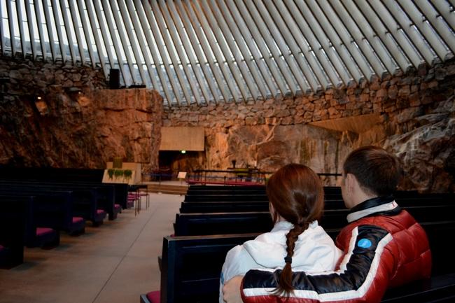 Церковь - скала - Хельсинки