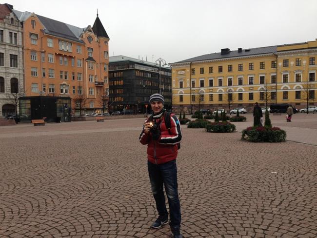 Фото из Хелсинки - Казарменная площадь