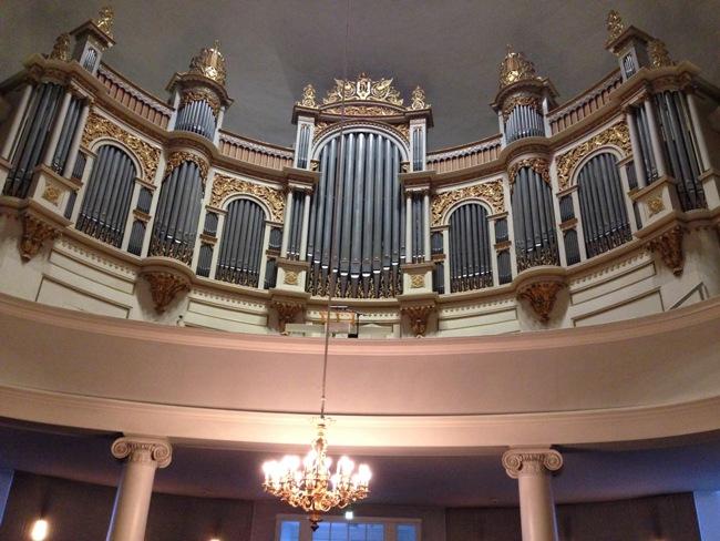 Слушали орган - лютеранская церковь в Стокгольме