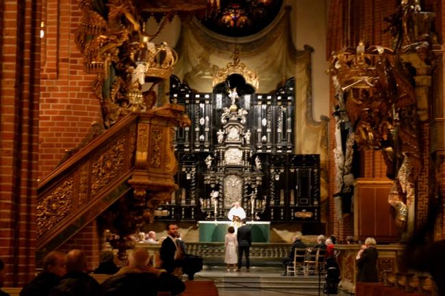 Стокгольм - фото в церкве