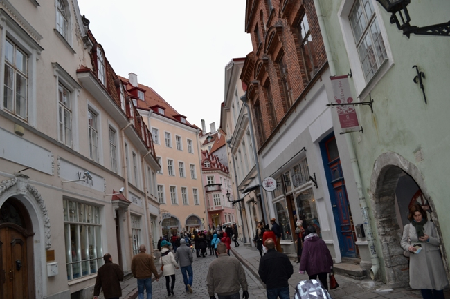 Панорама улиц Таллина