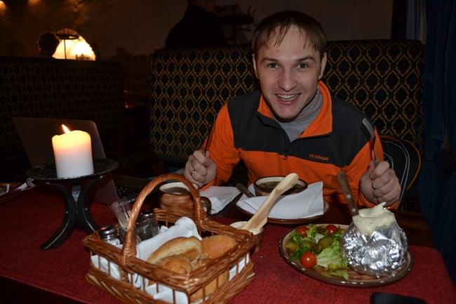 Обед в Таллине