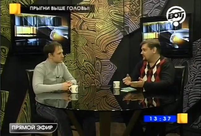 Антон Монин на телеканале ВОТ
