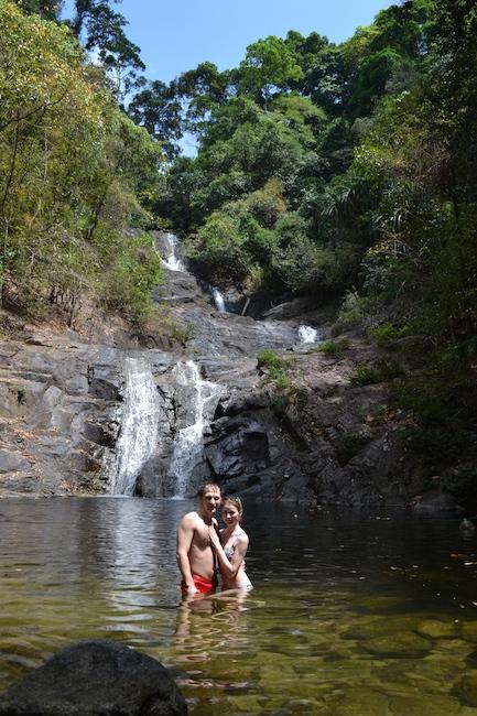 Фото водопада на острове Пхукет