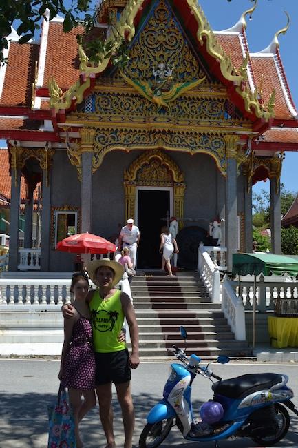 Фото - храм в Тайланде