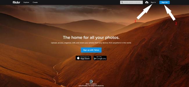 flickr com регистрация