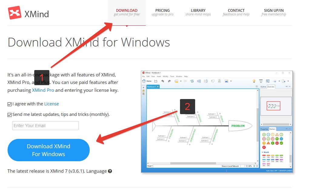 Как работать с программой xmind видео