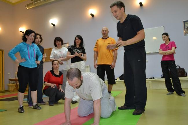 Фото с тренинга «Структура и опорность»