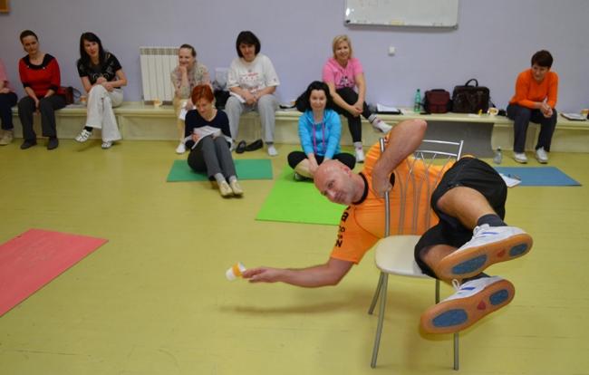 Интересное упражнение на «Структура и опорность»