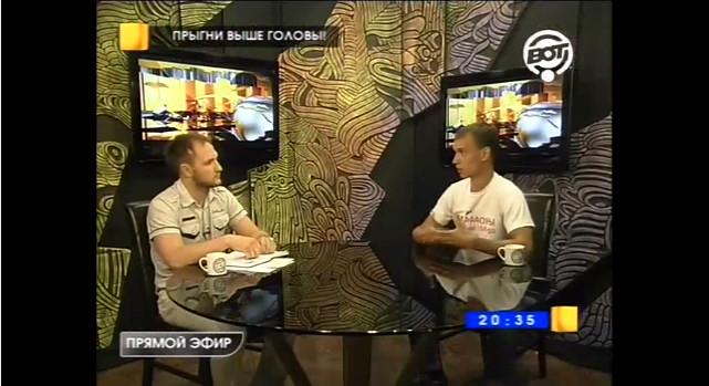 Александр Гуляев на телеканале ВОТ