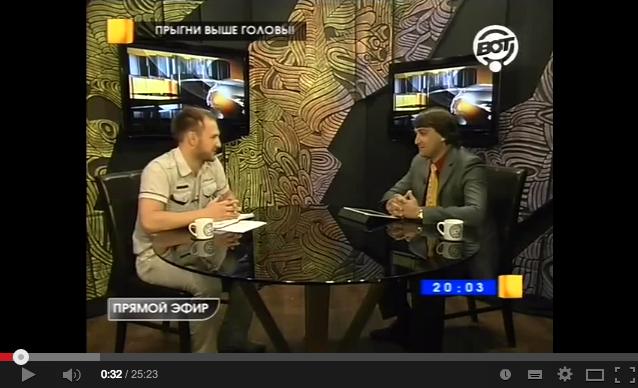 Алексей Плотников на телеканале ВОТ