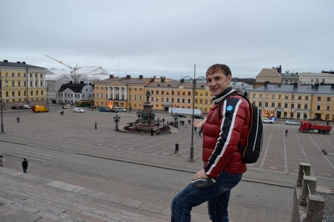 Хельсинки - Сенатская площадь - фото