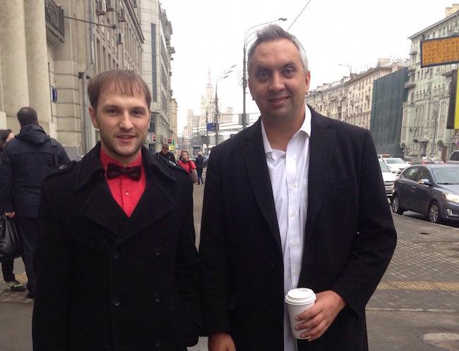 Андрей Парабеллум и Владислав Челпаченко