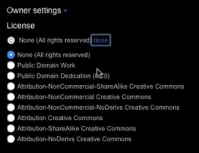 Редактирование прав доступа в облачном хранилище Flickr