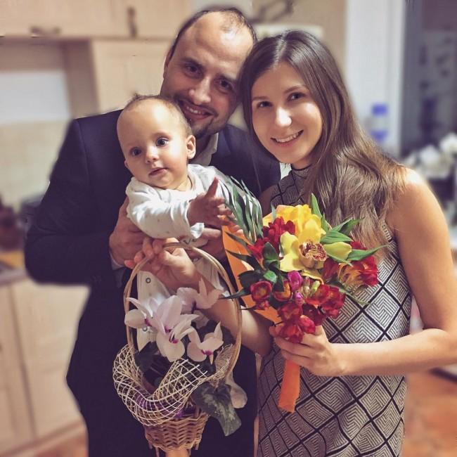 Игорь с семьёй