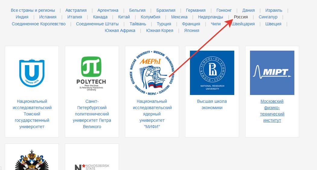 Обучение в Coursera на русском